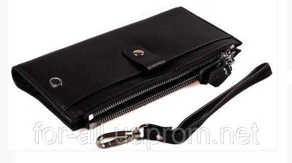 Женский кошелек из натуральной кожи  ST420 Black