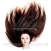 Длина волос учебных парикмахерских голов - какую выбрать
