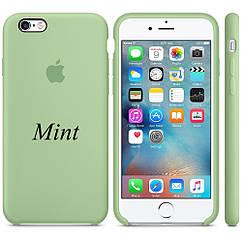 "Apple silicon case iPhone 6,6s Plus "" Mint """