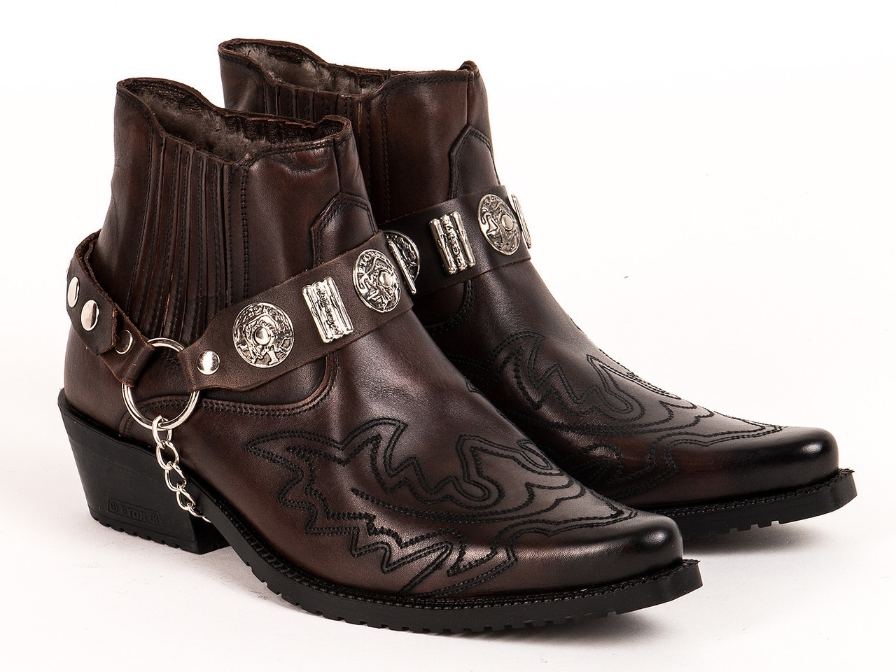 Казаки Etor 11632-1013-4900 43 коричневые