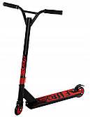 Самокат трюковый алюминиевый SportVida Fury RS9 для детей и юношей, цвет красный-черный