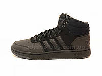 Мужские оригинальные зимние ботинки кроссовки Adidas Hoops 2.0 Mid B44621 bb2afa23fea46