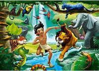 """Кастор пазлы 100дет. """"Книга джунглей"""" 40*29см, В-111022"""