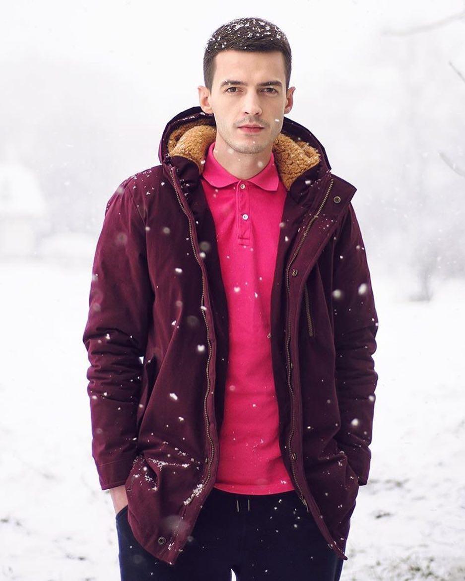 Куртка мужская зимняя бордо - MILLIONAIRE оптом мужская одежда в Черновцах 7ae898243d6ff