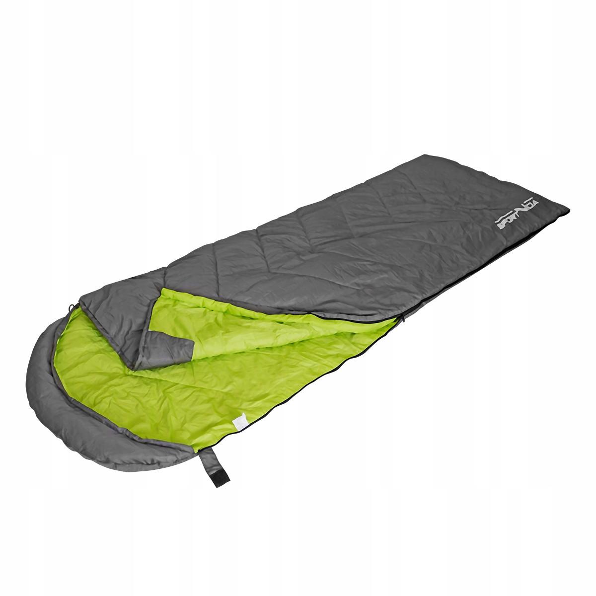 Спальный мешок SportVida SV-CC0015 Grey/Green