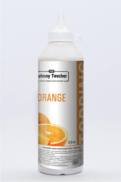 Топпинг Апельсин 600 гр Johnny Teacher