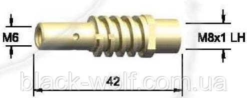 Держатель сопла газового BW 002.0078, для сварочной горелки BW 15AK