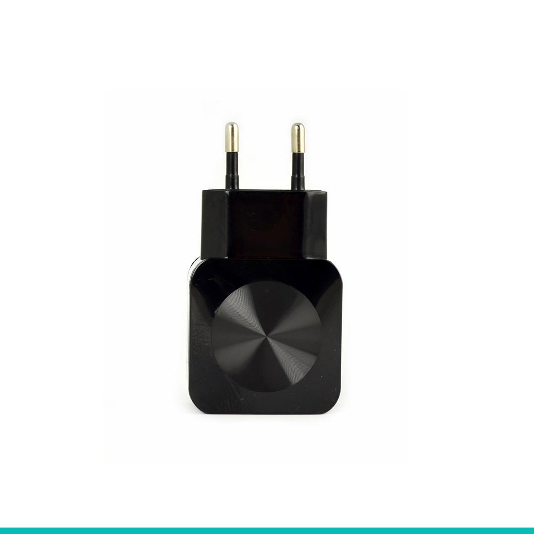 Сетевое зарядное устройство Aspor F13C + кабель Type-C Carbon Series (2 USB\2.1A)