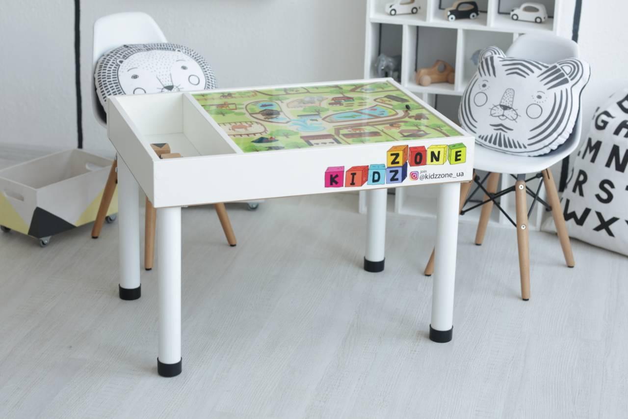 Детский развивающий столик