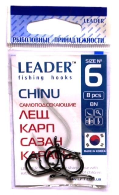 Крючки Лидер CHINU BN №6, 7шт