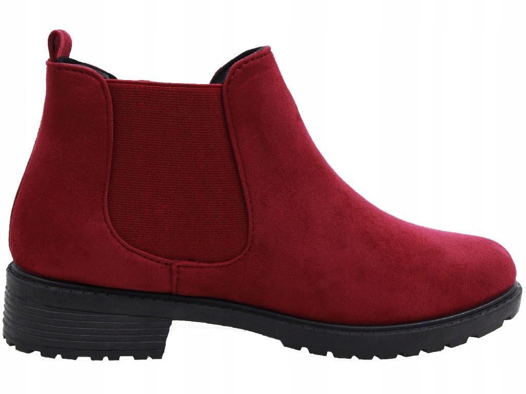 Женские ботинки Blitz red