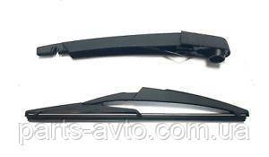 Рычаг стеклоочистителя + стеклочиститель задний Renault Sandero 2 Polcar 287815304R, 287804595R