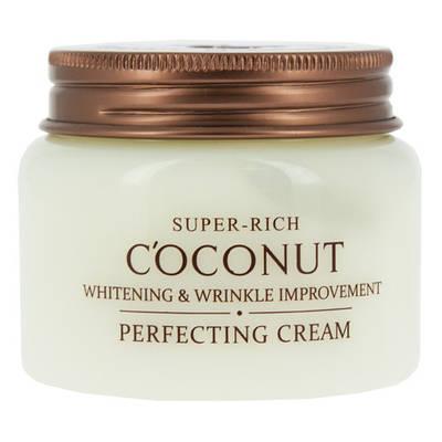 Кокосовый питательный крем Esfolio Super-Rich Coconut whitening & wrinkle perfecting cream, 120ml