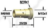 Держатель наконечника BW 142.0008, М6/25 для сварочной горелки BW 501D, фото 1