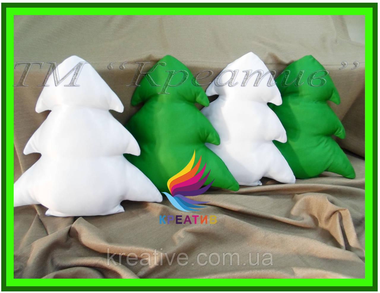 Новогодние подушки елки оптом с Вашим логотипом (от 100 шт)