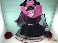 Карнавальный детский костюм Летучая мышь для девочки на утренник