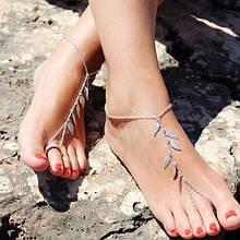 Оригинальный браслет на ногу