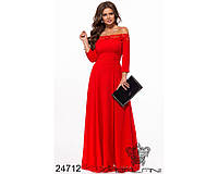Женское нарядное платье креп, фото 1