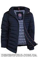 Куртка зимняя мужская BLACK VINYL C18-1331C тёмно-синяя, фото 1