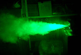 Дым машина с подсветкой 400 Вт и пультом ДУ (Генератор дыма)