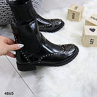 Ботинки женские черные деми, женская обувь