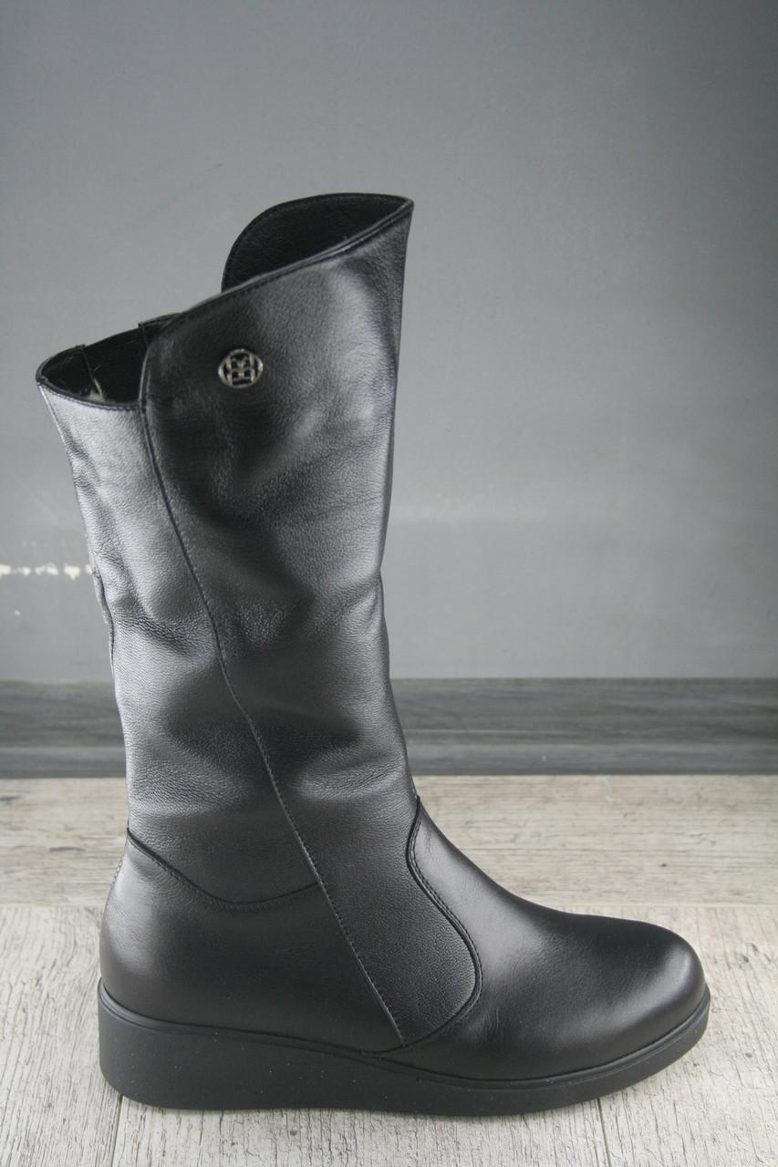Сапоги, полуботинки женские Foot Step, обувь зимняя из натуральной кожи, Украина