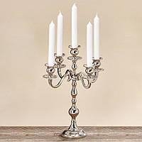 Подсвечник, канделябр на 5 свечей Варас. Высота 35 см