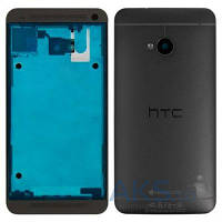 Корпус HTC One M7 801e Black