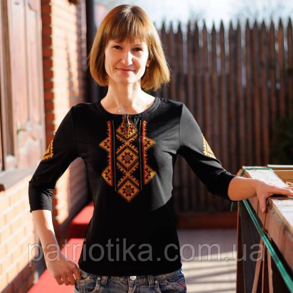 Купити жіночу вишиванку орнамент ромб | Купити жіночу вишиванку орнамент ромб