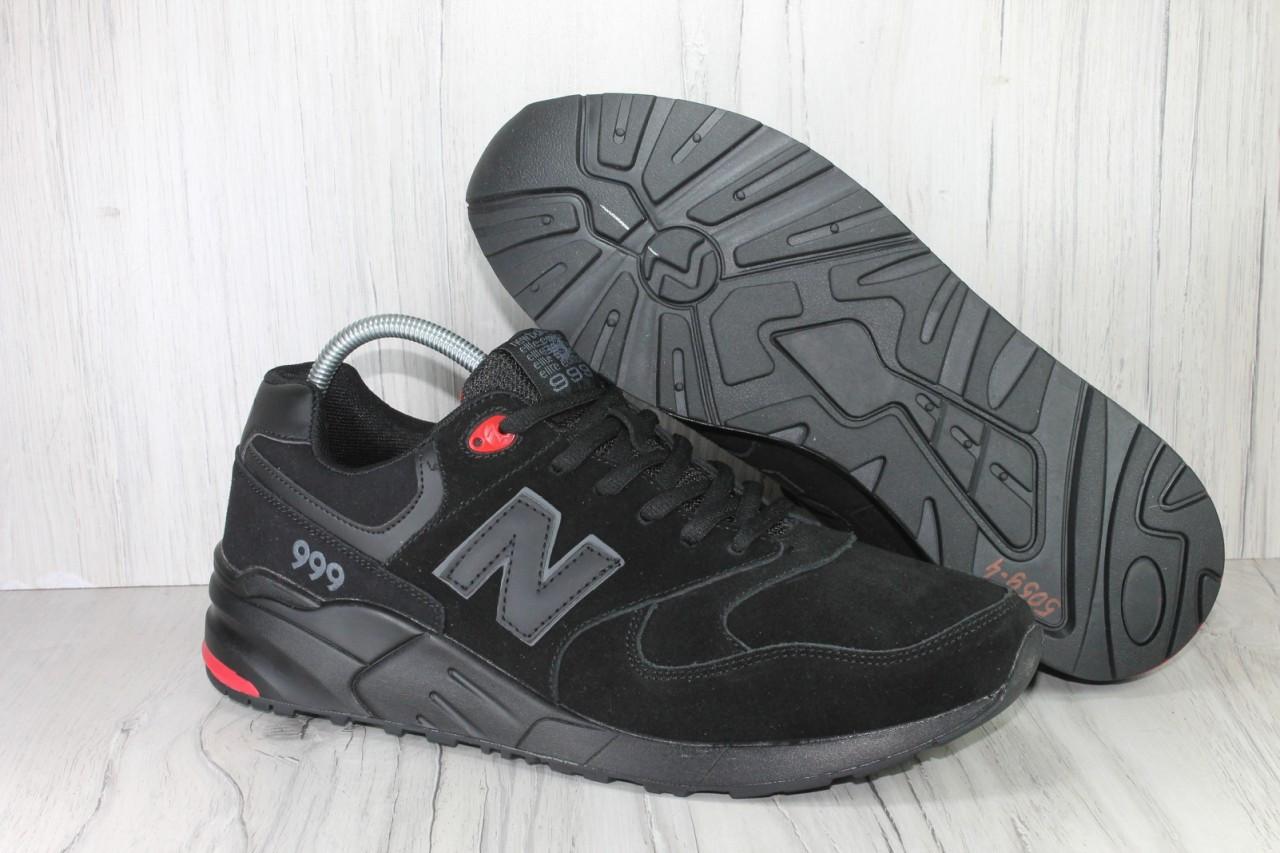 Чоловічі замшеві кросівки 46 розмір (30см.) у стилі New Balance