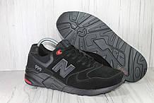 Мужские замшевые кроссовки 46 размер (30см.) в стиле New Balance