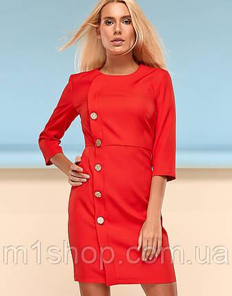 Женское однотонное платье-футляр (Джеммаjd), фото 2