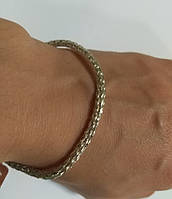 Браслет из серебра Колос