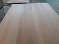 Мебельный щит экологически чистый, долговечный, бук,  цельноламельный