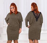 Платье свободного кроя от 44- 54 размера в ярких цветах d9c53db205f9f