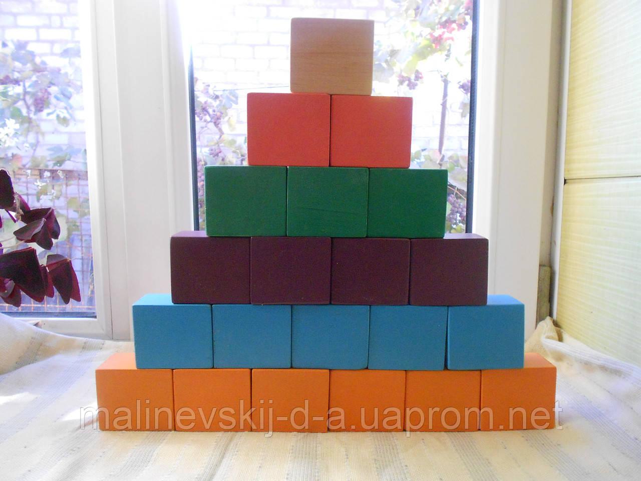 Деревянные кубики, фото 1