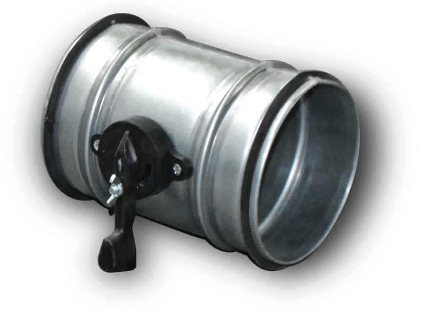Дроссель-клапан Ø100