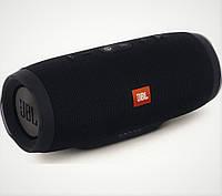 Колонка Jbl Charge 3 Bluetooth Беспроводная портативная MP3 FM цвет чёрная (качественная копия JBL)