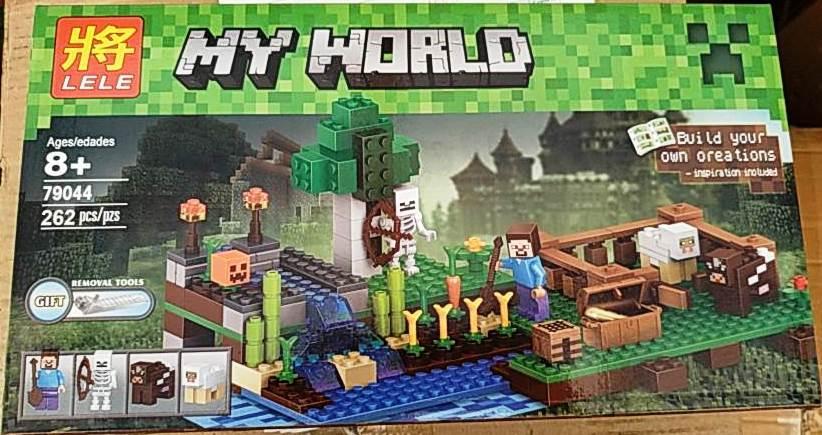 Конструктор Lele 79044 Minecraft Майнкрафт Ферма 262 детали