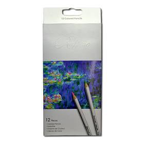 """Набор цветных карандашей 12 цветов """"Raffine"""" 7100-12СВ Marco"""