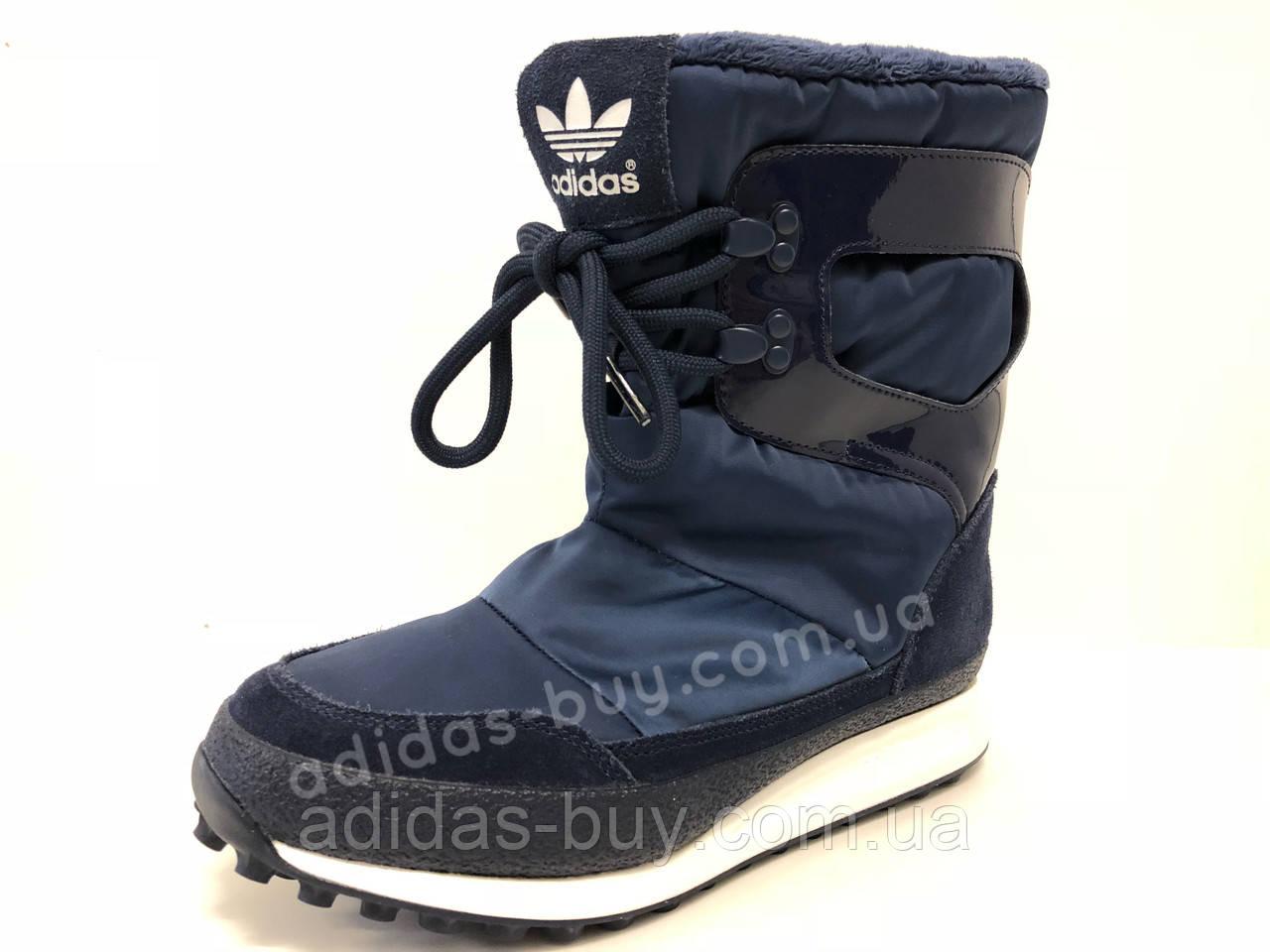 Женские оригинальные зимние сапоги adidas Snowrush S81384 цвет - синий -  ORIGINAL SHOES в Николаеве b3571c35544