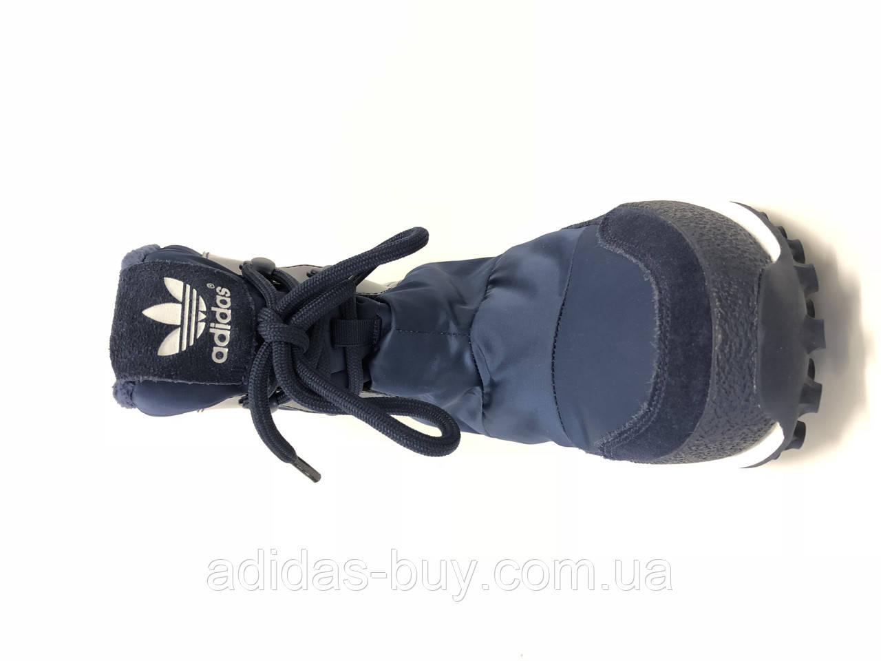 b218e7dd4 Женские оригинальные зимние сапоги adidas Snowrush S81384 цвет - синий 2 ...