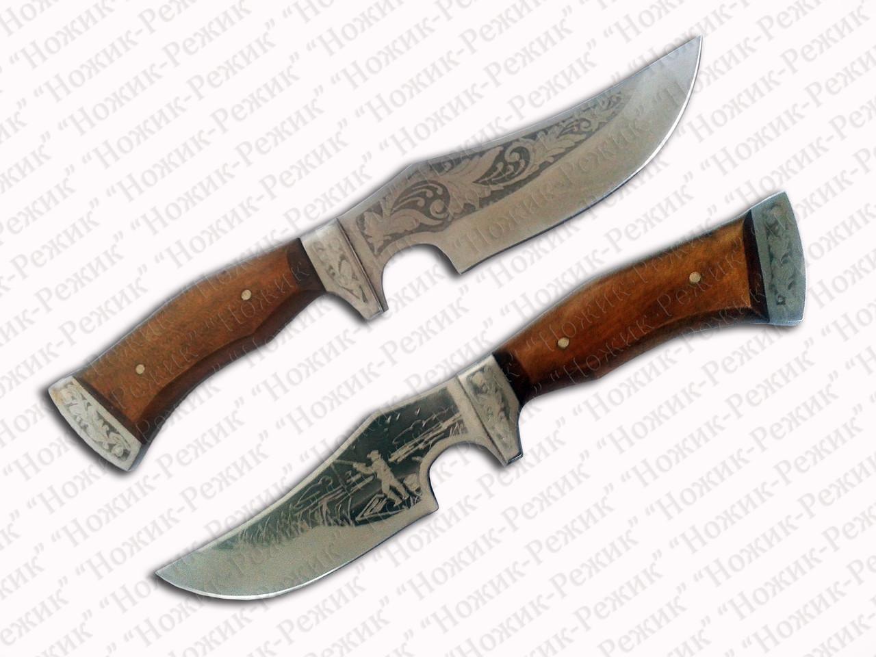 Рыбацкий нож, нож для рыбака, рыболовный нож, шкуродёр, нож для снятия шкуры