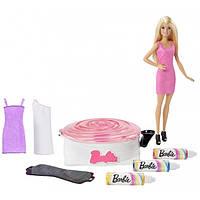 """Набор с куклой Barbie """"Арт-дизайнер одежды"""""""
