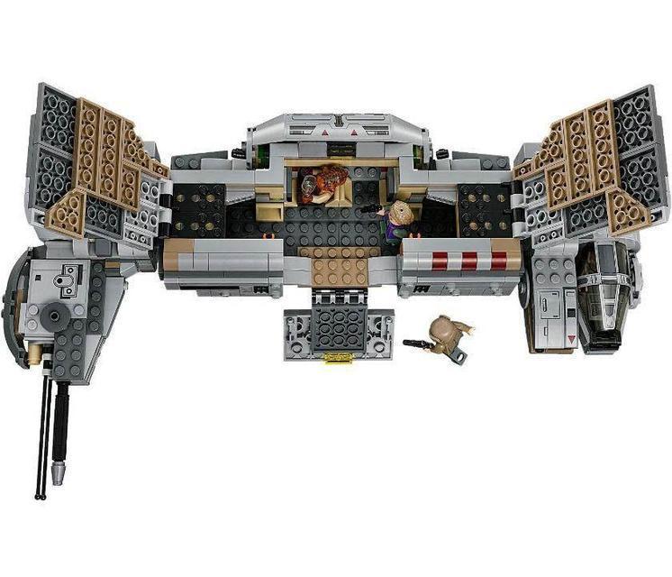 Конструктор Bela 10577 Star Wars Військовий транспорт Опору 670 деталей, (аналог Lego 75140)
