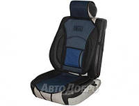 Накидка для сиденья универсальная Vitol черно-синяя 1шт