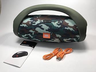 Колонка JBL BoomBOX Big большая Bluetooth портативная MP3 FM USB Wireless (качественная копия JBL) камуфляж