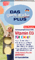Жевательные витамины для детей DAS Gesunde PLUS Vitamin D3, 60 шт., фото 1