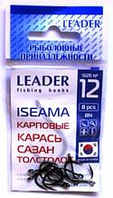 Крючки Лидер ISEAMA BN №12, 8шт