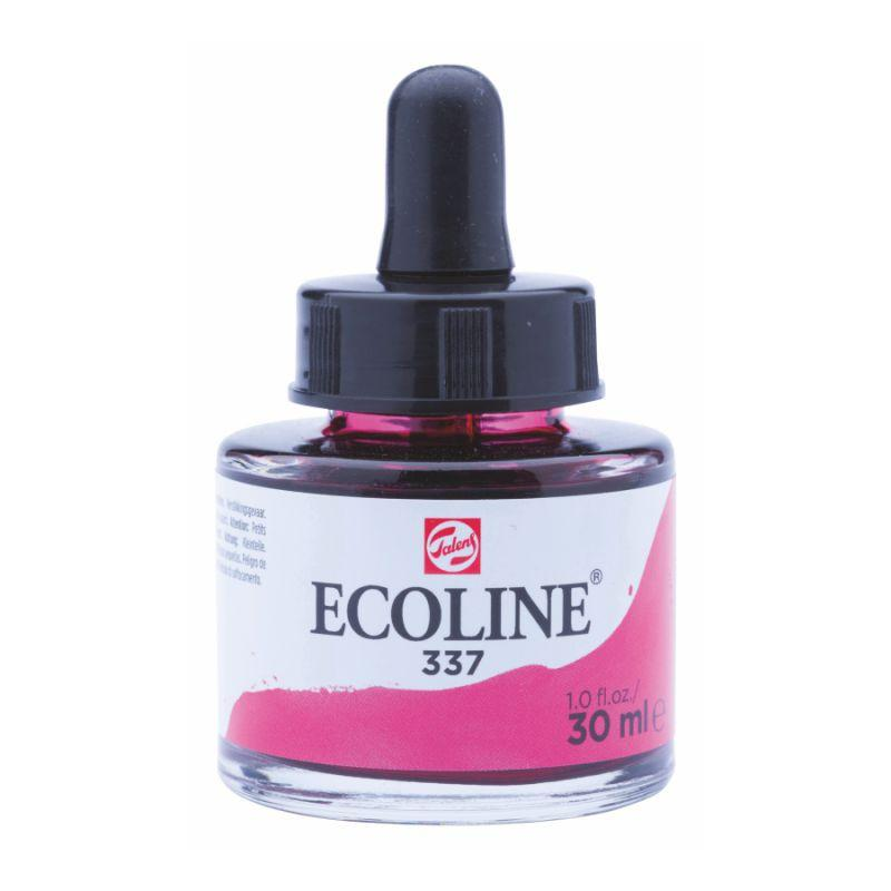 Краска акварельная жидкая Ecoline (337), маджента, 30 мл, Royal Talens, 11253371